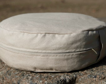 Yoga pillow round cushion meditation seat zafu, Meditation seat, Floor pillow, Yoga zafu, Yoga cushion, Meditation cushion Round pillow
