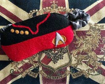Star Trek sleep Mask, Capt Jean Luc Picard