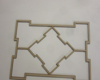Dolls House 12th scale Ceiling Panel suits a ceil size of 380mm x 320mm cp02