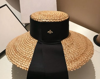 Europe and the runway looks very large eaves ceiling with straw hat female summer holiday beach hat sea sun hat