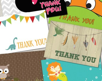 Matching Thank You Card for any Jenrik Designs Invitation
