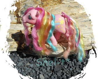 Rainbow Curl My Little Pony ~*~ Stripes ~*~ Vintage G1 80's  Collectible