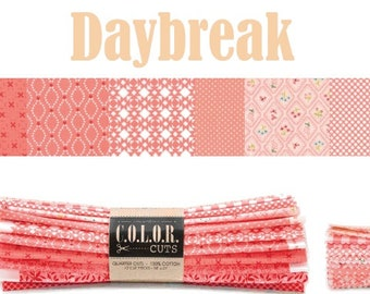 "Color Cuts Daybreak 24 10"" Squares by Moda Fabrics and designed by Bonnie & Camille, Lella Boutique and Stacey Iest Hsu"