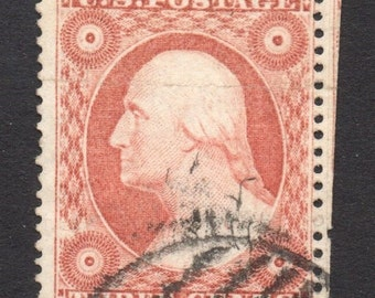 US 1857 Scott 26A type IV cat one hundred fifty dollars