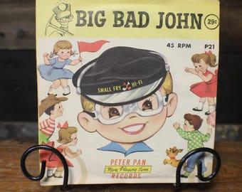 1959 Big Bad John Record by Peter Pan Records