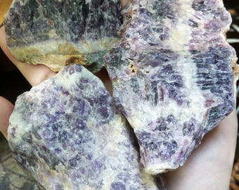 1.15 LB Rough Chevron Amethyst