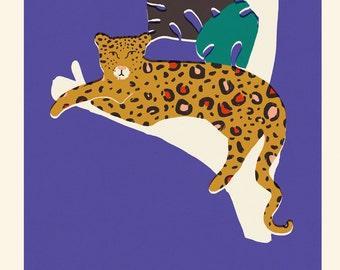 Leopard Print A2