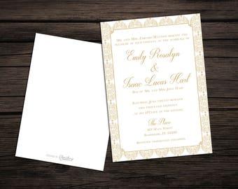 Classic Elegance Invitation