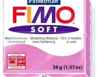 Hobby: 1 roll 56g polymer clay FIMO SOFT Lavender REF62