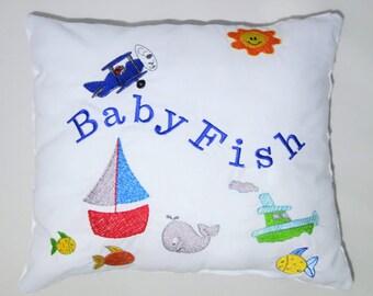 Cuddly Baby Fish cushion
