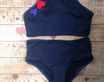 Two Pairs Soft Wool Underwear for Women - Made to Order BITTERNS - Size XS to XL