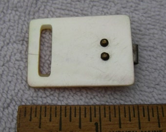 Antique Mother of Pearl BUCKLE-As Is