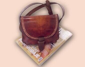 Jelena 21 Leather Handbag orange-brown