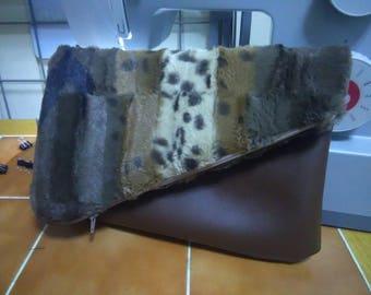 Flap Fur Clutch