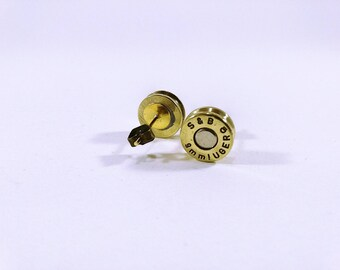 Casings 9mm earrings