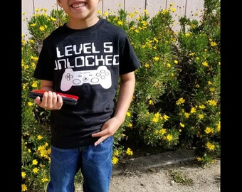 Customized Gamer Birthday Boy Shirts