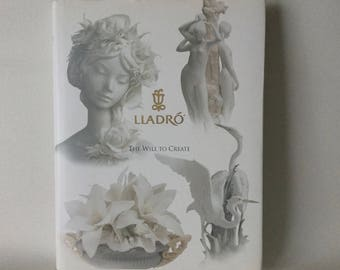 LLADRO The Will To Create - Coffee Table Book Hardcover w/ DJ
