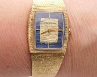 Girard Perregaux 14K Yellow Gold Hand-Wind Wrist Watch