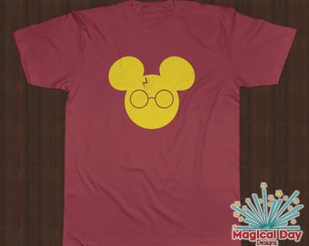 Disney Shirts - Harry Potter Mickey (Design Color Changes with Shirt Color)