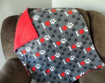 Dog Blanket - Cat Blanket - Pet Bedding