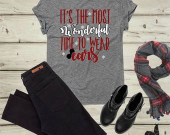 Disney Christmas Shirt, Disney Holiday Shirt, Minnie Christmas Shirt, Mickey Christmas Shirt, Mickey Holiday Shirt, Disney vacation