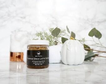 Pumpkin Spice Latte Body Scrub | Bath and Body Products | Spa Products | Sugar Scrubs | Body Scrubs | Coffee | Relax | Natural | Wholesale