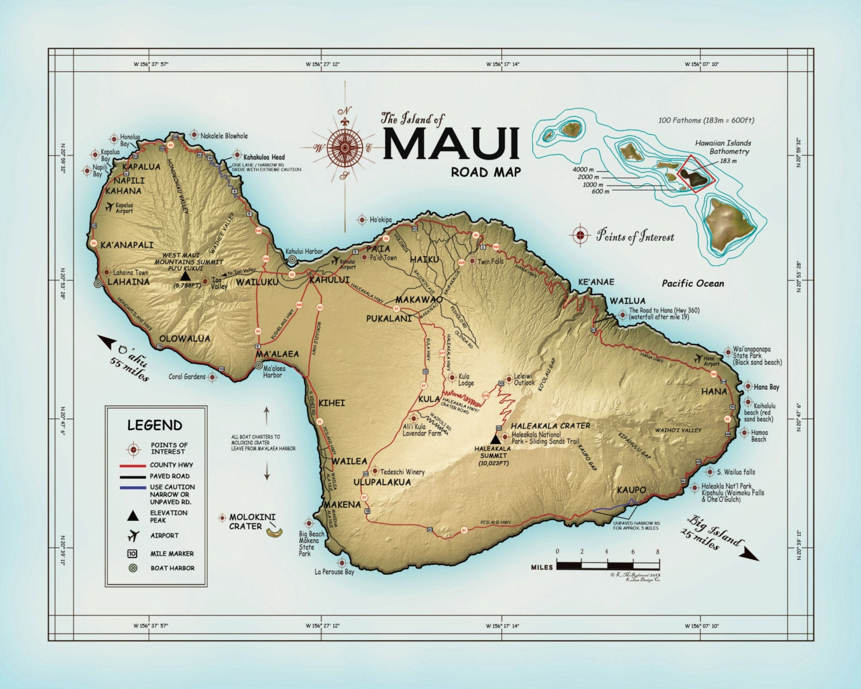 The island of maui atlas inspired zoom altavistaventures Images