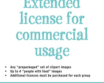 Extended license for commercial usage