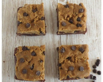 Cookie Dough Brownies (Box of 4 or 9 squares)