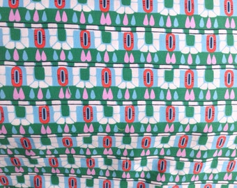"Amy Butler, Cameo ""Hopscotch"" in Pine, 100% Cotton Fabric"