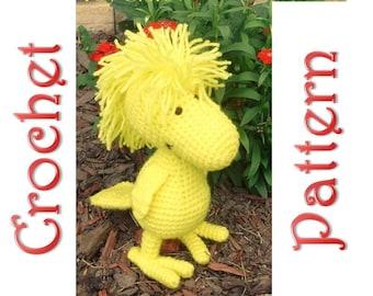Woodstock a Crochet Pattern by Erin Scull