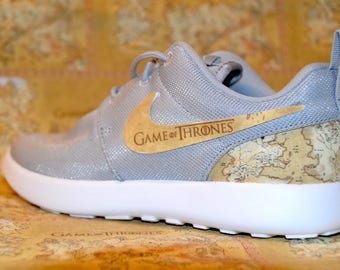 Game Of Thrones Custom Nike Roshe Run One Shoe Sneaker