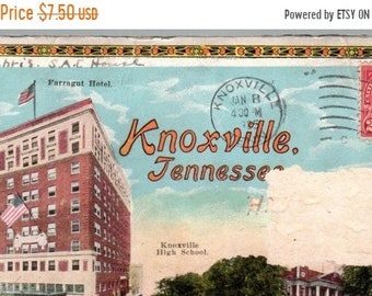 BTS Knoxville, Tennessee fold out pictures in a envelope