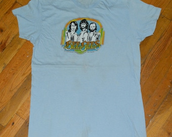 1979 The BEE-GEES t-shirt vintage band tee concert tour rare original rock r&b disco t-shirt Large (XL) Barry Gibb Robin Maurice