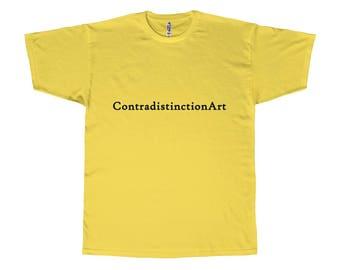 Adult Tee  Contradistinctionart