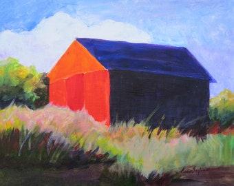 Barn on a Sunny Day