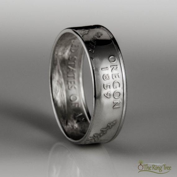 Oregon State Quarter Ring