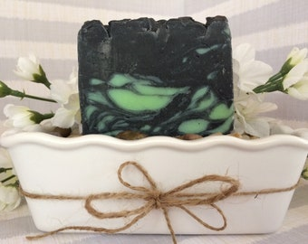 Activated Charcoal Hemp Soap