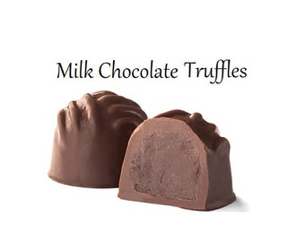 Truffles, Milk Chocolate Truffles