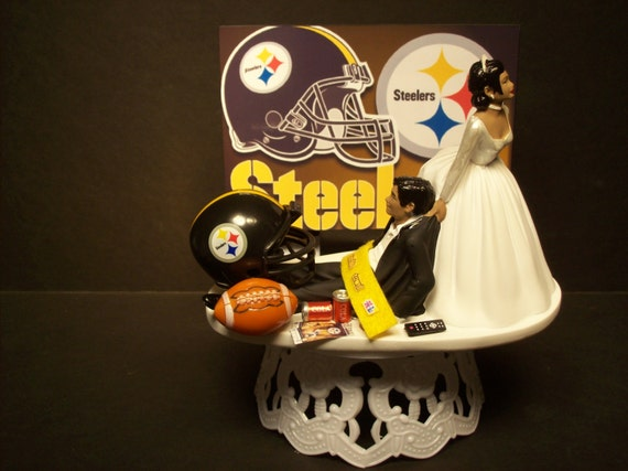 wedding cake ideas images football pittsburgh steelers american hispanic 22922
