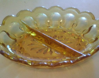 Amber Party Plate
