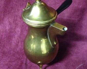 1940s Brass Pourer/Pitcher