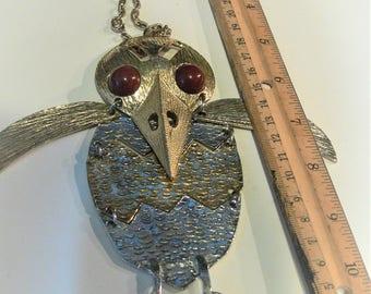 big bird necklace