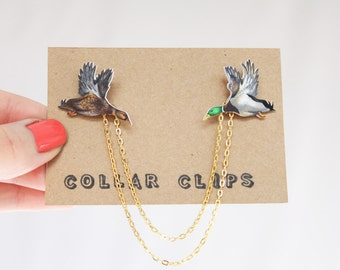 Collar Clips: Ducks