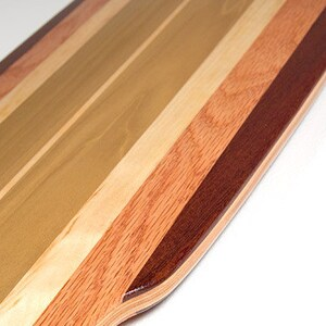 Green Gene Pintail | Longboard Skateboard Deck