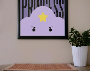 Adventure Time / Lumpy Space Princess / Poster