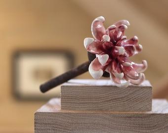 Dark Pink Flower Decor