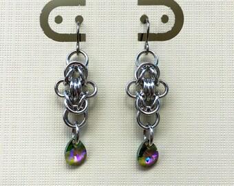 Byzantine Crystal Earrings