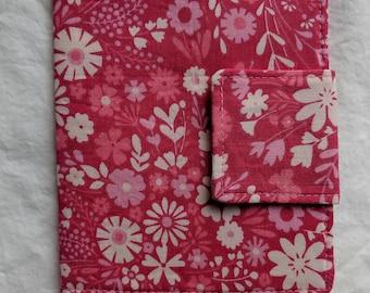 Mini Crayon Art Folio- Pink Floral