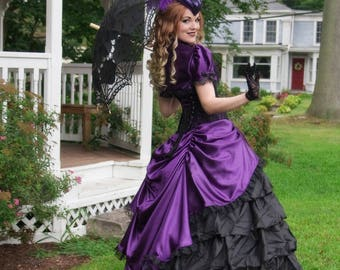 Victorian Wedding Dress   Belle of the Ball   Civil War Ball Gown, Victorian Costume, Gone with the Wind, Civil War Dress, Victorian Dress